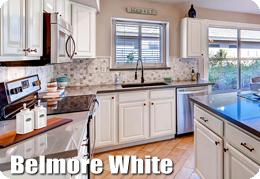 Belmore White Cabinets