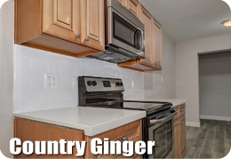 Country Ginger Cabinets