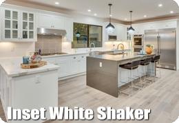 Inset White Shaker