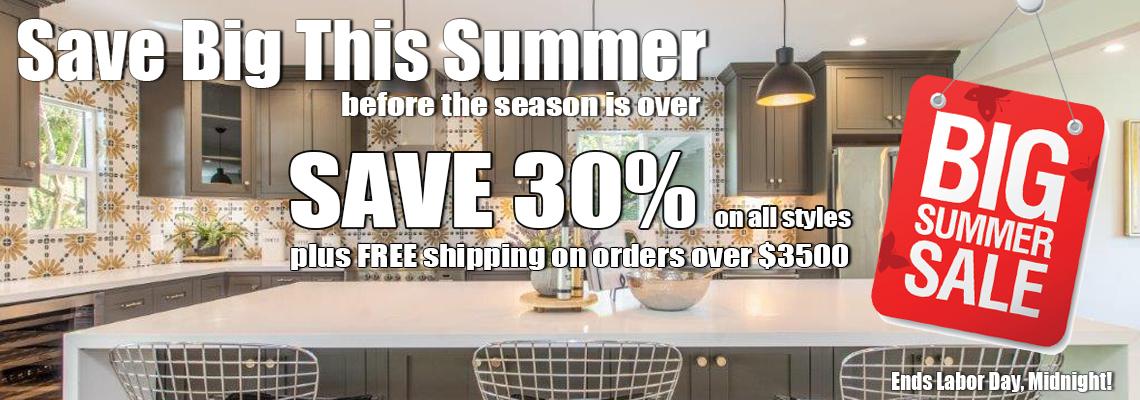 The Cabinet Spot Summer Sale