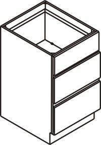 "Drawer Base Cabinet 15"""