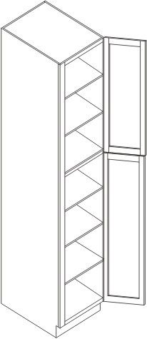 """Pantry Cabinet 18"""" x 84"""""""