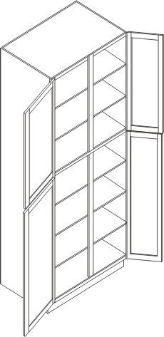"""Pantry Cabinet 24"""" x 93"""""""