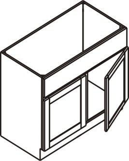 "Vanity Cabinet 30""W x 32.5""H x 21""D"