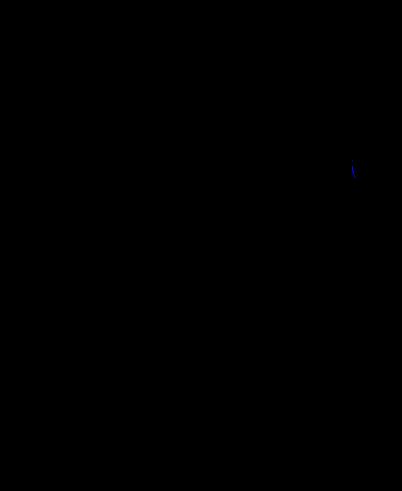 """Base Cabinet 18"""" : 1 Door & 1 Drawer (Hinge Left)"""