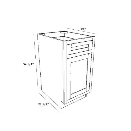"""Base 21"""" Cabinet"""