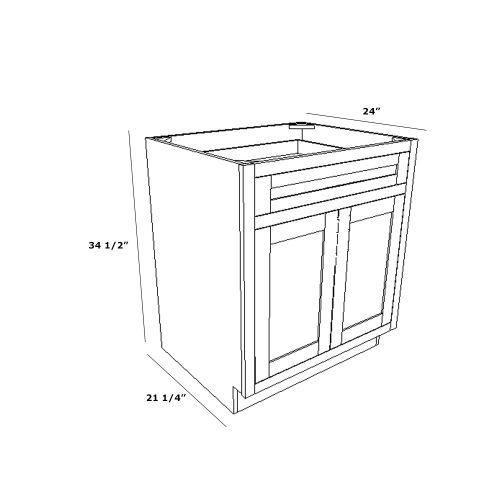 """Base 24"""" Cabinet"""