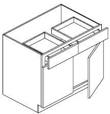 """Base Cabinet 42"""""""