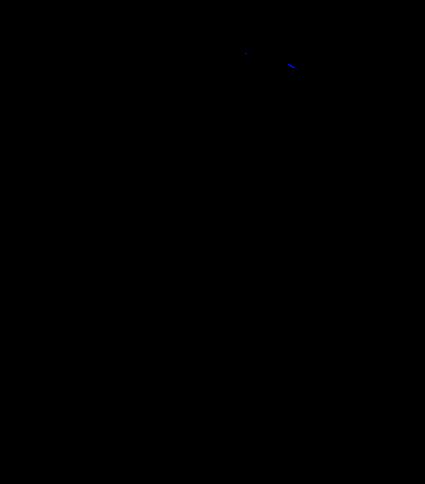 """Base Cabinet 12""""  - Full Height Door (Hinge Left)"""