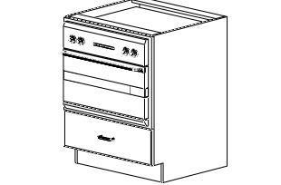 "Base Microwave Cabinet 30"""