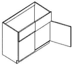 """Sink Base Cabinet 33"""""""