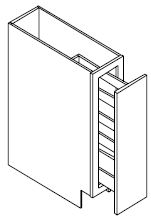 """SPICE BASE CABINET PULL OUT 06"""""""