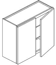 WALL CABINET 33 X 30