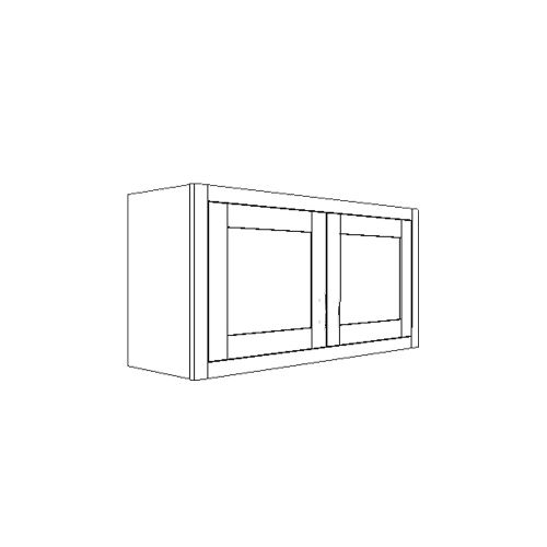 "Wall Bridge Cabinet 36"" x 21"""