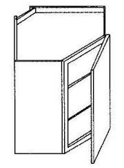 """Wall Diagonal Corner-24""""W x 36""""H"""