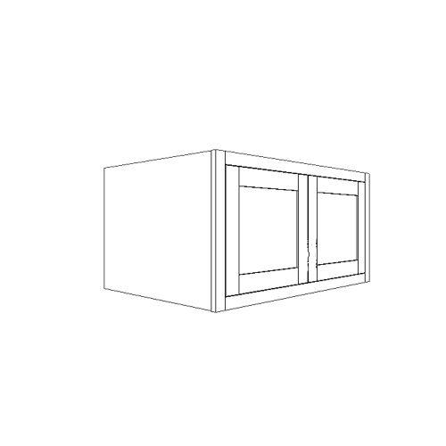 """Wall Fridge Cabinet 36""""W x 15""""H x 24""""D"""